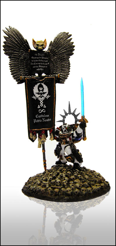 Chapter Standard Bearer of the Guardian Angels Chapter.