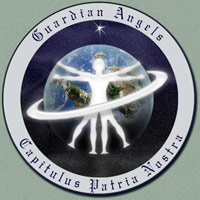 The Guardian Angels symbol.
