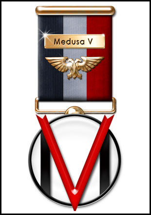 The M5A3 Medal in Gold